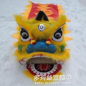 舞獅子-耐摔版塑料獅頭6寸8寸兒童舞獅子/醒獅/舞獅道具/舞獅頭/舞獅套餐