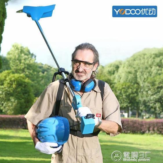 優動無刷充電式電動割草機背負多功能家用打草機草坪機園林除草機  全館85折