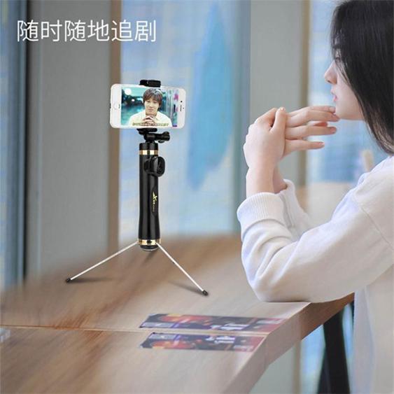 自拍棒 手機自拍棒三腳架蘋果oppo通用型vivo藍芽旅游自照拍全身照的神器