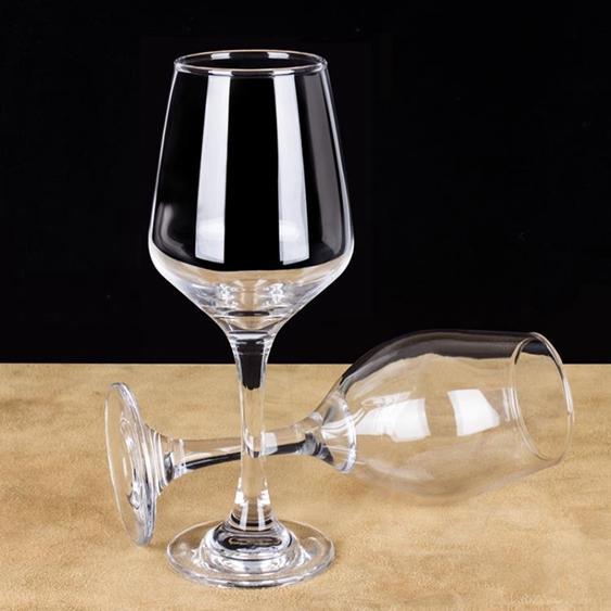 歐式無鉛紅酒盃高腳盃套裝玻璃盃 倒掛架家用葡萄酒盃4/6只裝