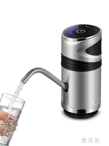 全店85折up 抽水器 自動桶裝水電動礦泉水按壓飲水機水泵出水器手壓式家用吸水IP4175