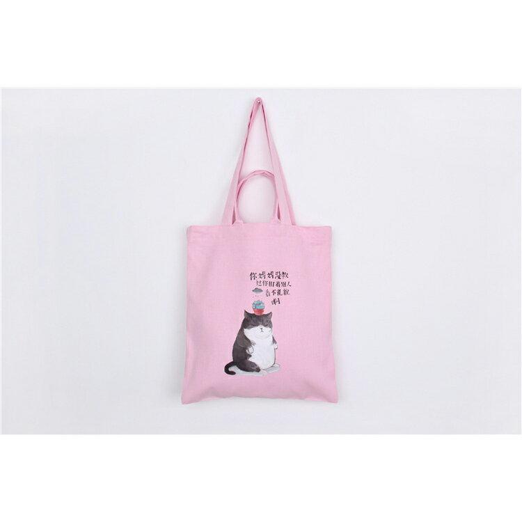 手提包 手提包 帆布袋 手提袋 環保購物袋--手提/單肩/拉鏈【SPA57】 BOBI  10/06 1