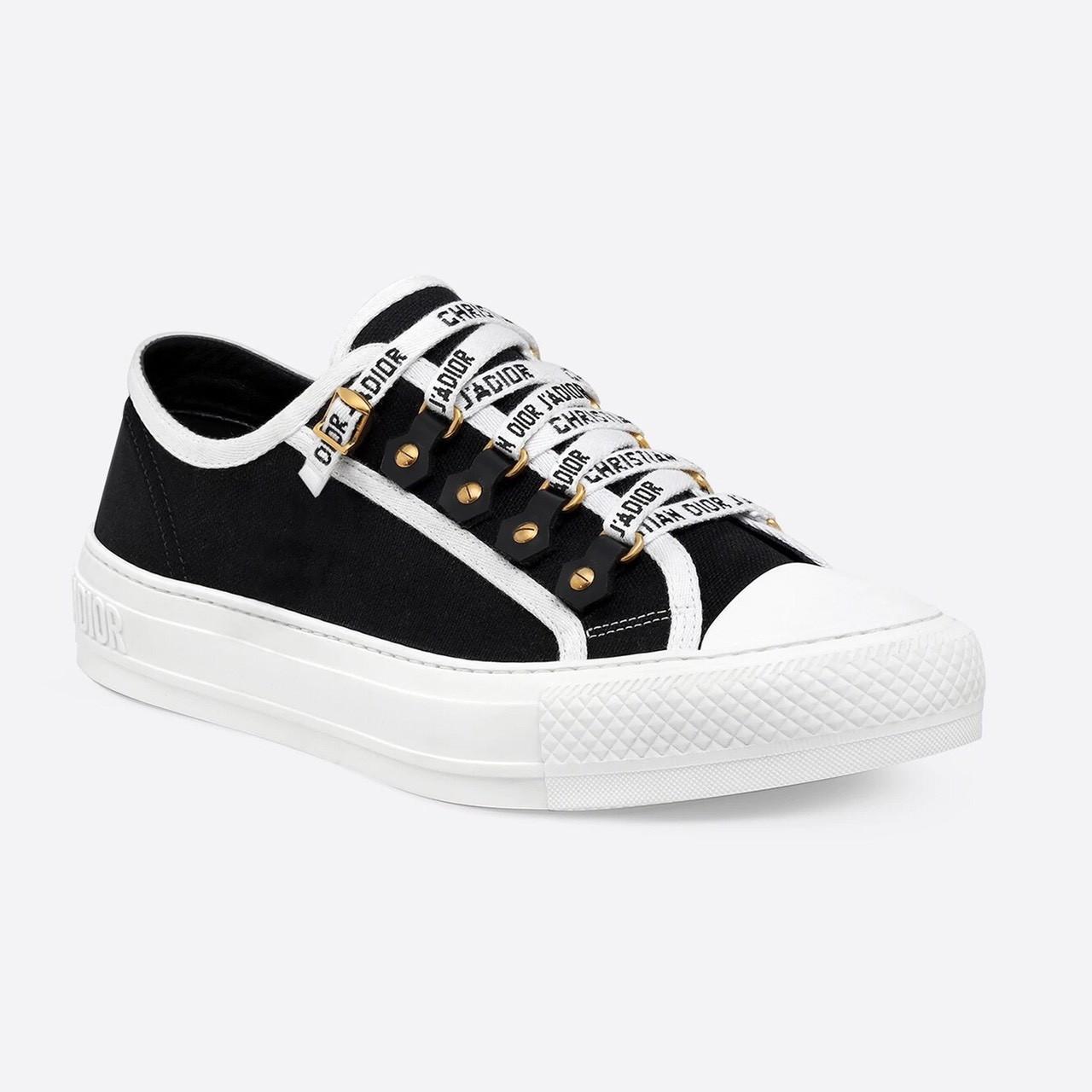 麋鹿公主歐美時尚 DIOR 黑色WALK DIOR運動鞋 尺寸38