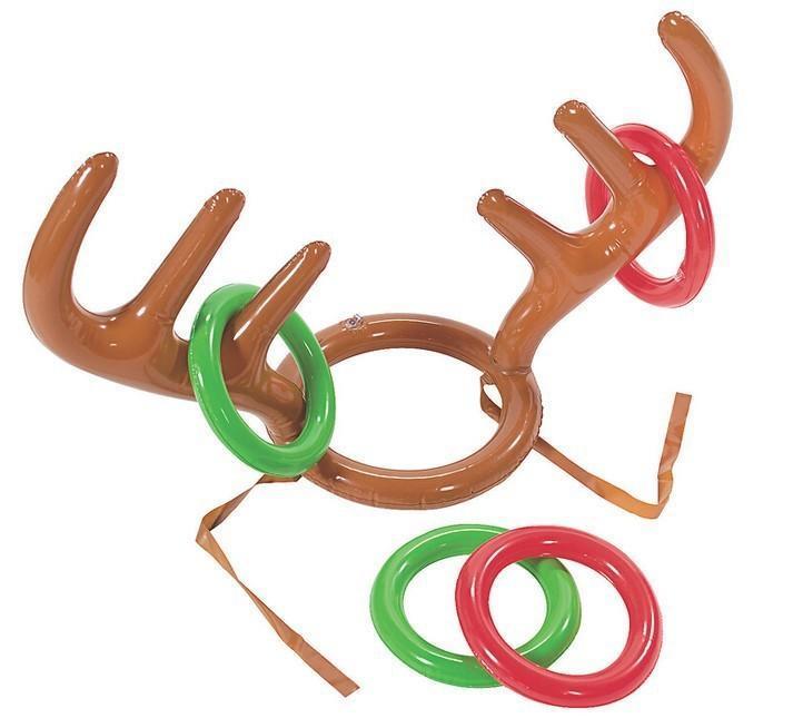 【鹿角套圈圈(加購圈圈下標處)】 不含鹿角 充氣鹿角帽 整人玩具 桌遊 新年禮物 獎勵品 交換禮物 聖誕禮物生日禮物