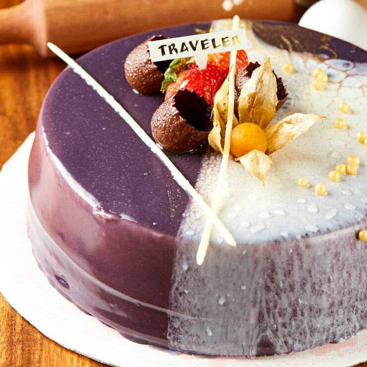 【旅行 Traveler 烘焙】客製慕斯蛋糕8吋 2