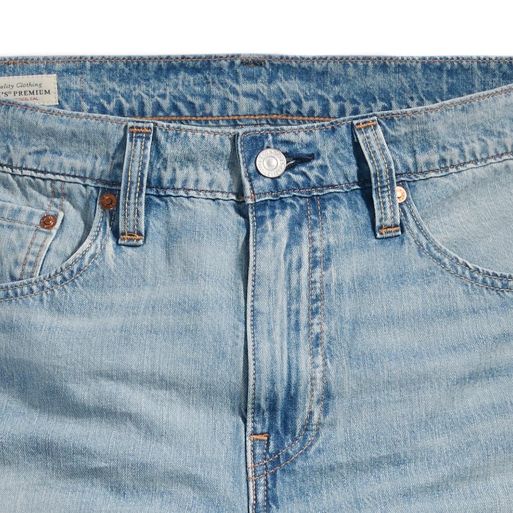 Levis 男款 上寬下窄  /  502 Taper 牛仔褲  /  淺藍洗舊  /  及踝款 5