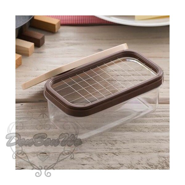 日本貝印奶油切塊器保鮮盒5G份量保存294699海渡
