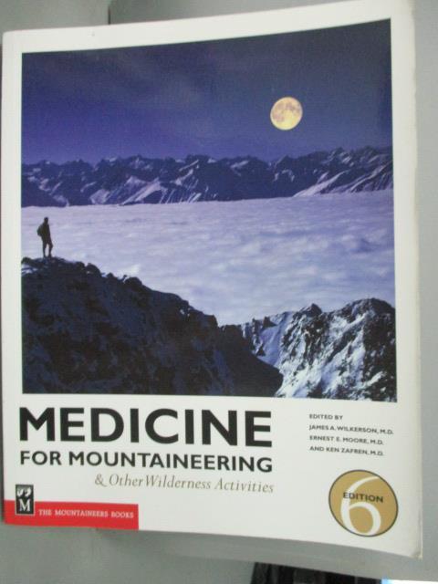 ~書寶 書T1/體育_WGI~Medicine for Mountaineering: A