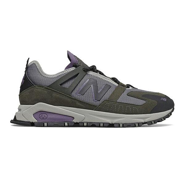 【NEW BALANCE】NB X-RACER 復古鞋 休閒鞋 墨綠灰紫 男鞋 -MSXRCTCBD