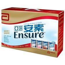 Abbott 亞培 ENSURE 安素綜合禮盒 8入【瑞昌藥局】011290
