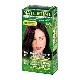 Naturtint 赫本 赫本染髮劑 4M赤褐棕色 155ml【瑞昌藥局】000320
