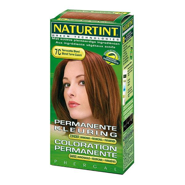 Naturtint 赫本 赫本染髮劑 7C金赤土色 155ml【瑞昌藥局】000323
