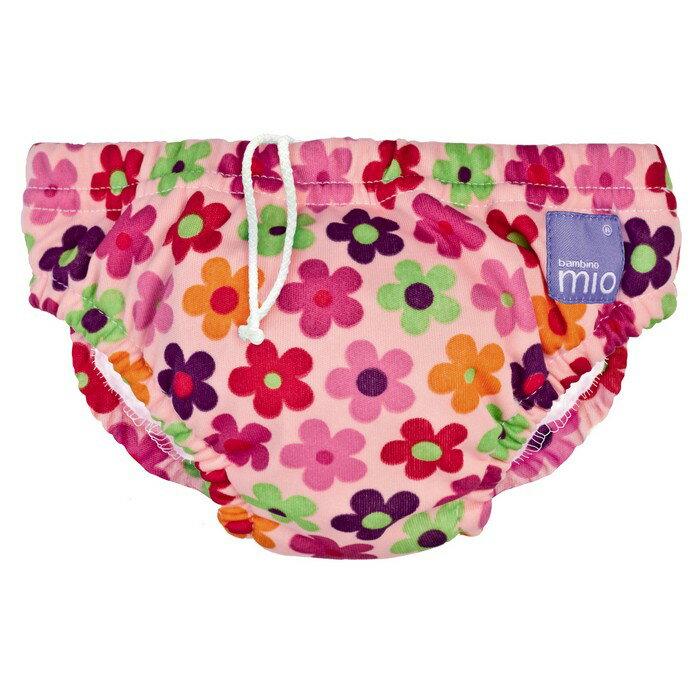 【淘氣寶寶】Bambino Mio 尿片泳褲- 中號 7-9 公斤 - 粉紅色向日葵 Pink Daisy【保證原廠公司貨】