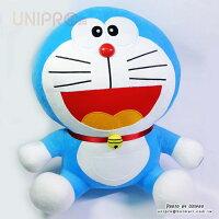 小叮噹週邊商品推薦【UNIPRO】哆啦A夢 Doraemon 小叮噹 60公分 坐姿 絨毛玩偶 娃娃 禮物