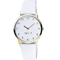 agnès b.手錶推薦到AGNES.B/浪漫法國時尚圈藝術女腕錶/白/7N00-0BH0W就在方采鐘錶推薦agnès b.手錶