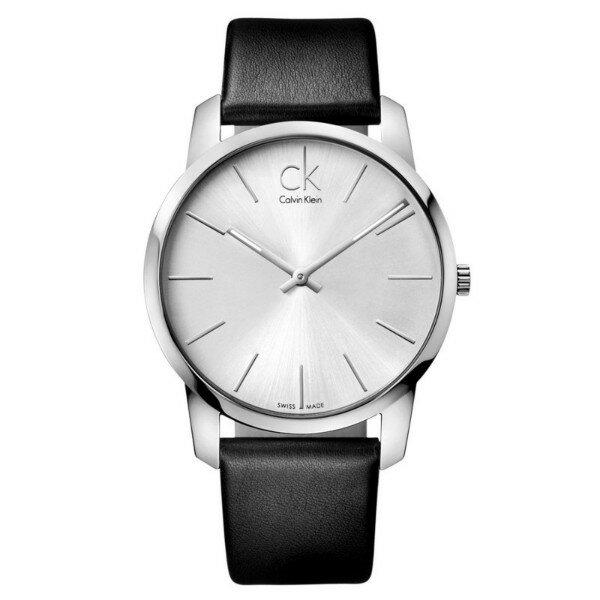 CK CITY(K2G211C6)城市經典簡約腕錶/白面43mm