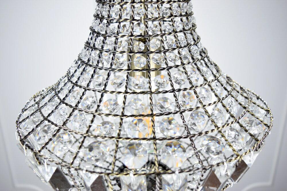 古銅提籠水晶吊燈-BNL00106 6