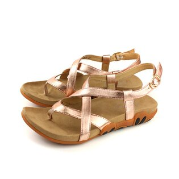 Kimo涼鞋女鞋古銅色K18SF041135no759
