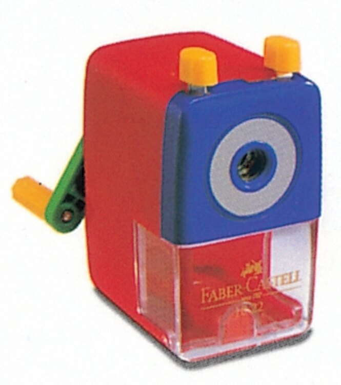 【永昌文具】Faber-Castell 輝柏 1828 色鉛筆專用削鉛筆機 (大小通吃-顏色隨機出貨) / 台