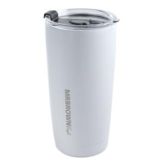 伯朗不鏽鋼保溫杯-純淨白-0.59L