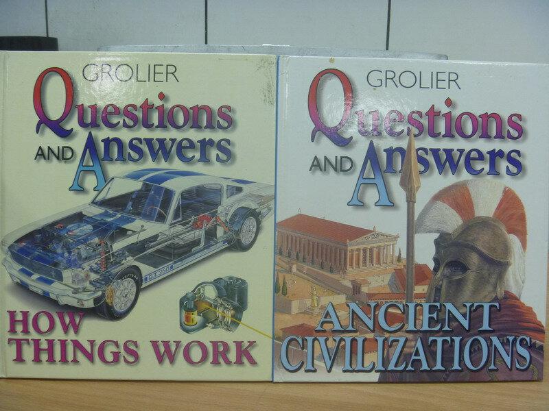 ~書寶 書T8/語言學習_YKC~How things work_Ancient..._共