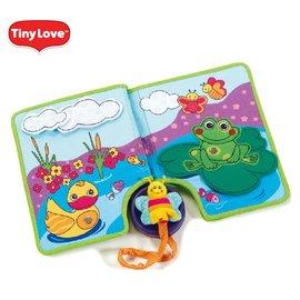 【限量破盤59折】【安琪兒】美國【Tiny Love】觸摸和探索書本 - 限時優惠好康折扣
