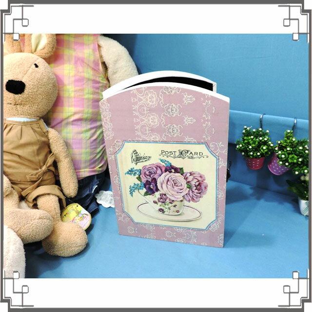 皮革KEY BOX《LK16-1》紫玫瑰木製皮革鑰匙盒 收納盒 壁櫃 壁飾 居家布置◤彩虹森林◥