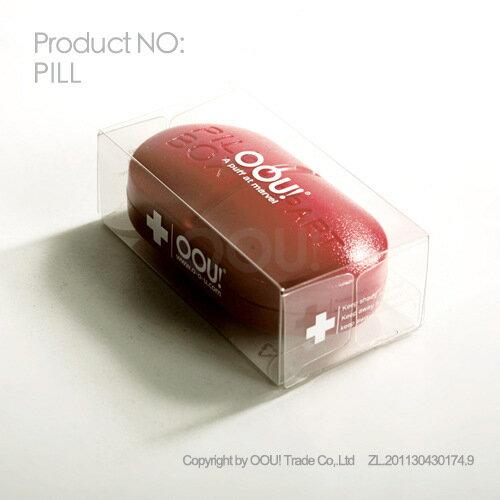 PILLBOX 可愛6分格小藥丸盒^(顏色 出貨^) ~  好康折扣