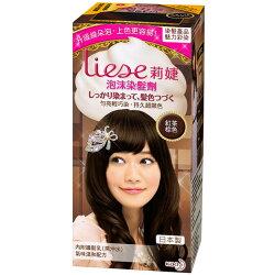 Liese 莉婕 泡沫染髮劑 魅力彩染系列 紅茶棕色