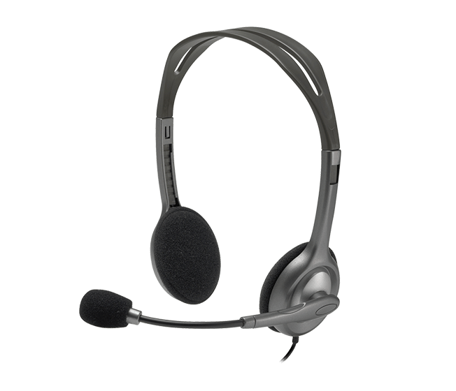 ~迪特軍3C~Logitech 羅技 貨 H110 立體聲耳機麥克風 多 且可調整
