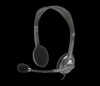【迪特軍3C】Logitech 羅技 公司貨 H110 立體聲耳機麥克風 多功能且可調整