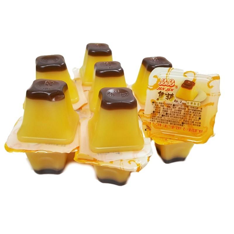 晶晶果凍-焦糖布丁口味 1000g【2019070800049】( 果凍)