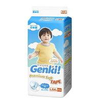 婦嬰用品王子Genki - 元氣超柔紙尿褲/尿布 L 54片 4包/箱 【好窩生活節】。就在小奶娃婦幼用品婦嬰用品