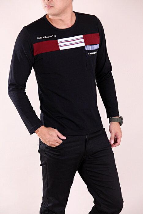 CS衣舖 彈力伸縮 高質感 長袖T恤 3310 1