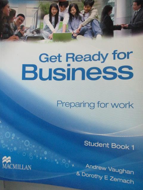 ~書寶 書T5/語言學習_YCV~Get Ready for Business Stude