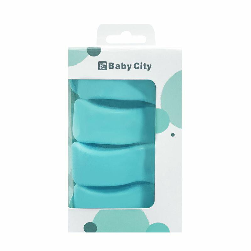 娃娃城 Baby City 多功能推車安全夾-4入裝 BB41038★衛立兒生活館★