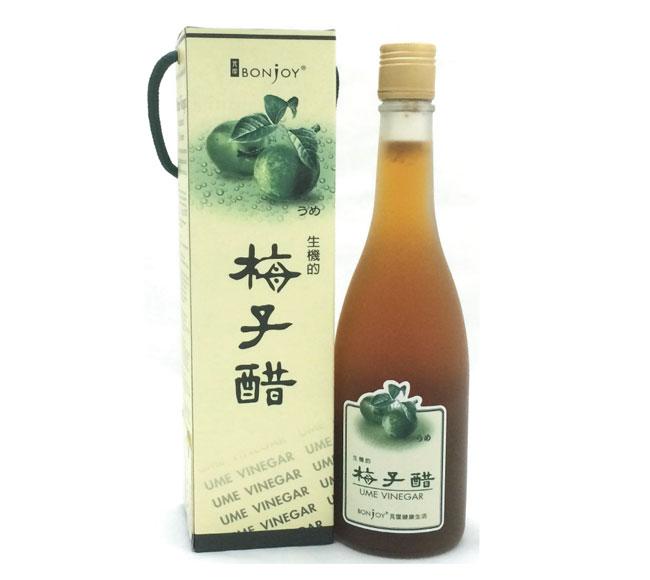 Bonjoy 芃潔生機的梅子醋600ml 含豐富果肉纖維 琥珀酸 蘋果酸