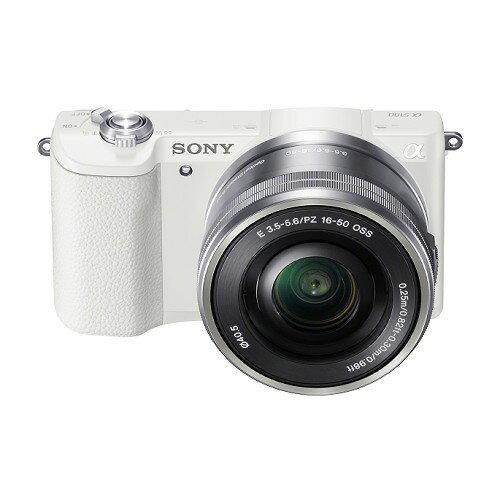 SONY單眼ILCE-5100L/W A5100 白 變焦鏡組【愛買】