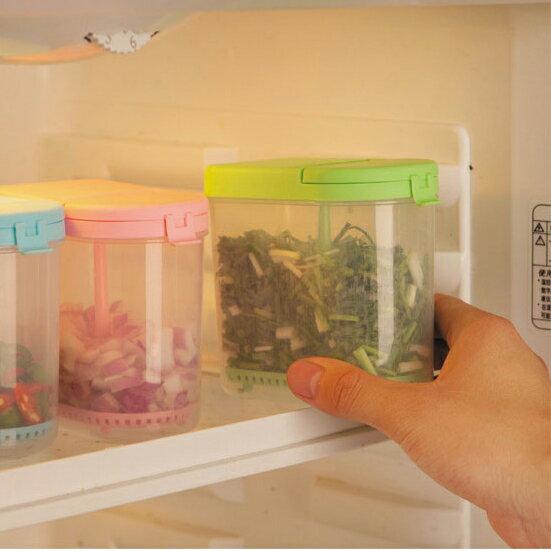 【團購價】蔥花切丁瀝水保鮮盒 (不挑色) FT2324