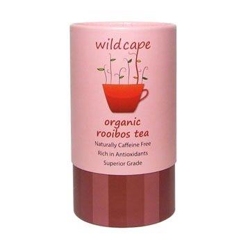 【淘氣寶寶】南非國寶茶Wild Cape 野角有機南非博士紅茶-40包/罐【天然生成無咖啡因、低單寧酸、溫和無澀味】