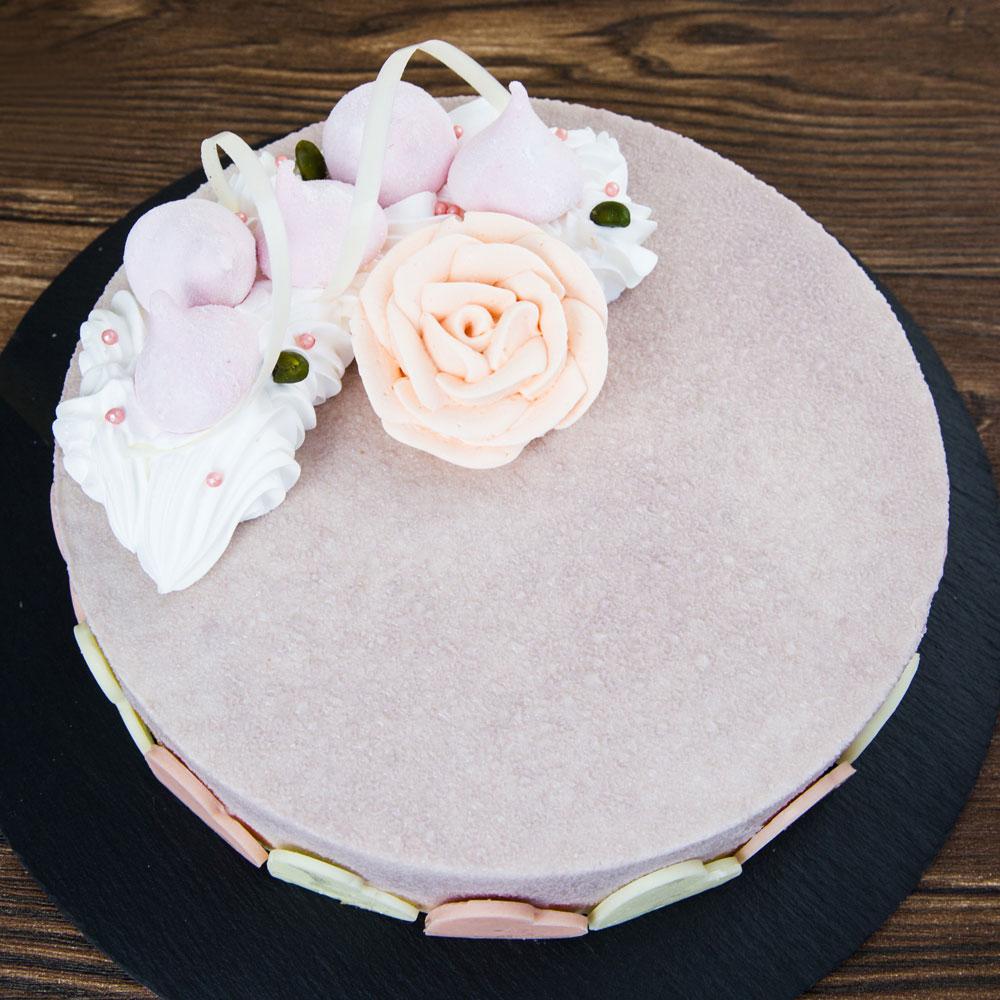 【上城蛋糕】生日蛋糕門市自取-芋見幸福8吋,精選甜柔芋頭餡,白巧克力脆餅底,搭配胡麻布丁,芋頭蛋糕,甜而不膩清爽口感,下午茶甜點首選
