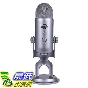 [8美國直購] 兩年保固 Blue Yeti USB Microphone 專業電容式 麥克風 COOL GREY酷炫灰