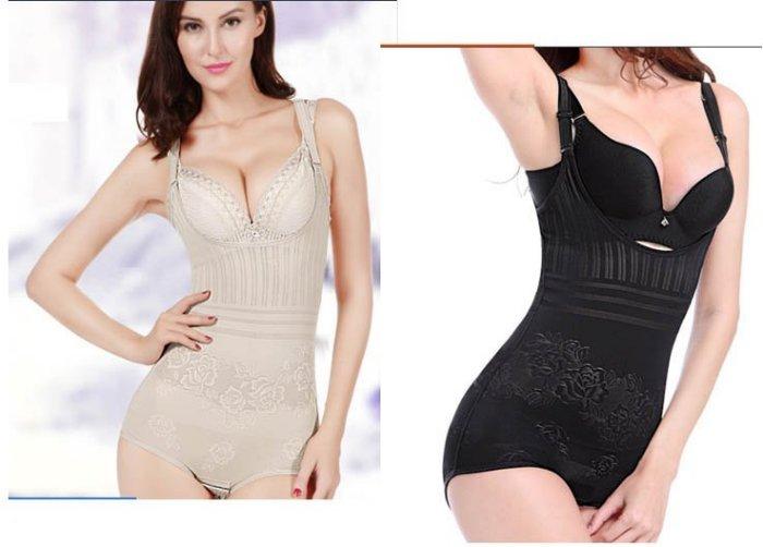 來福,H27夏季超薄款透氣無痕連體塑身衣產後收腹束腰瘦身衣,售價300元