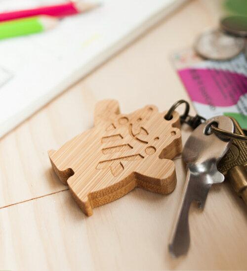 灰熊古錐 - 鑰匙圈