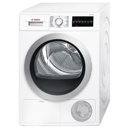 德國 BOSCH 博世 WTG86401TC 冷凝式乾衣機 (歐規8KG) 220V ※熱線 07-7428010