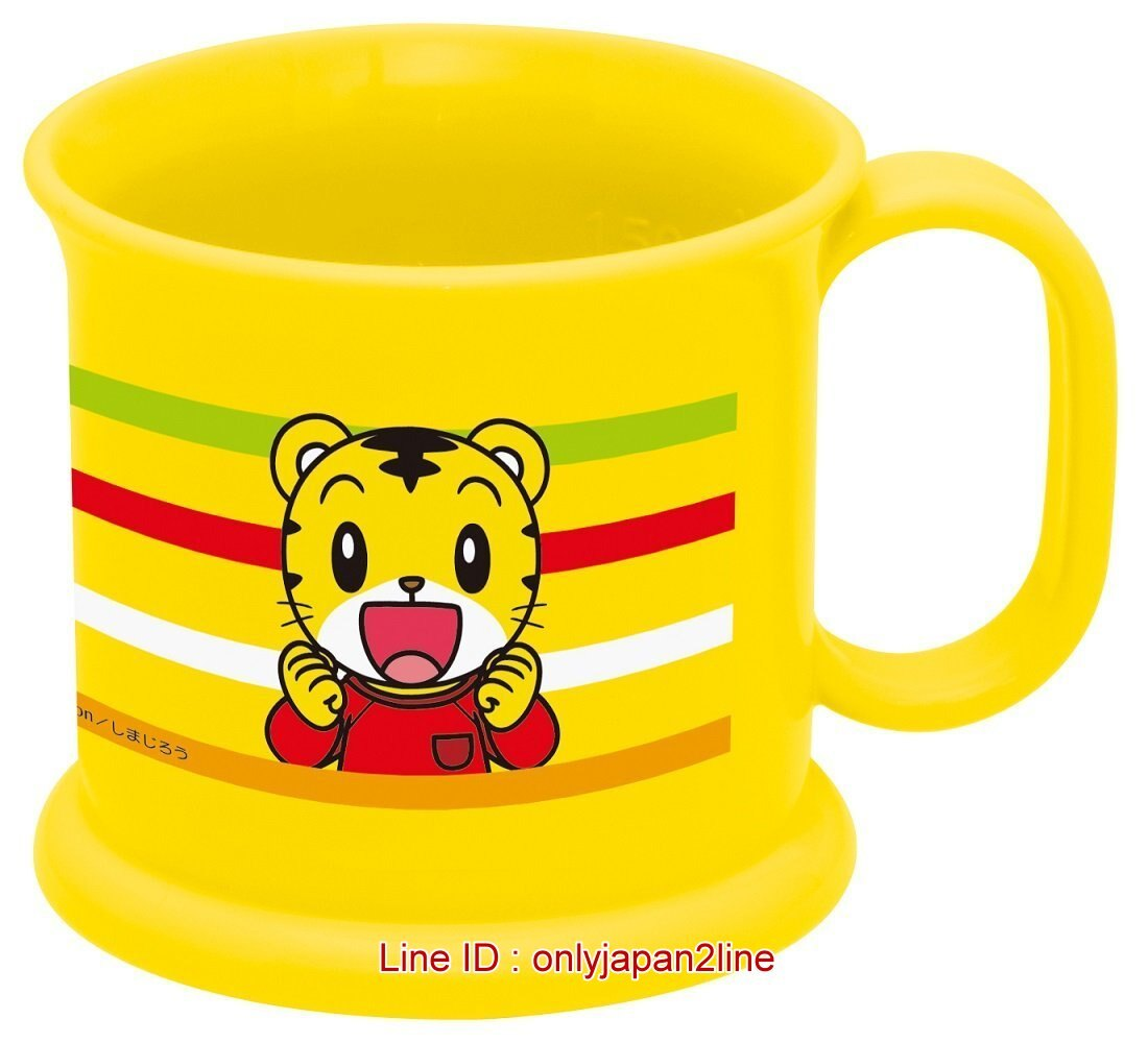 【真愛日本】16123000013 寬口小水杯-巧虎 可愛巧虎島 水杯 漱口杯 塑膠杯 日本製