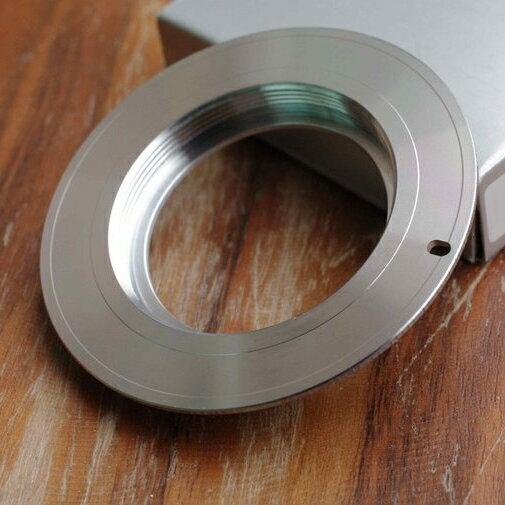 我愛買#TianYa天涯M42轉EOS轉接環(有檔板.遮蔽環,將M42鏡頭接到Canon相機即EF接環EF-S機身)M42-EOS轉接環 M42鏡頭轉接環 M42轉Canon接環 M42-EOS轉接環..