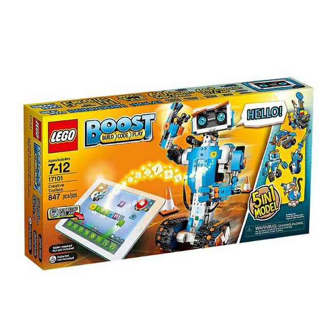 【LEGO 樂高積木】BOOST系列-樂高機器 LT-17101