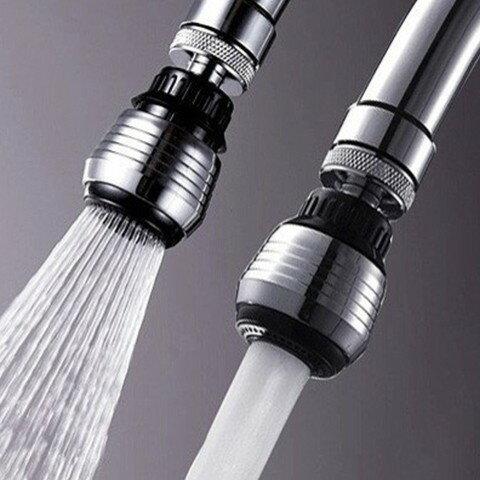 60度旋轉節水器/360度旋轉水龍頭兩段式節水器