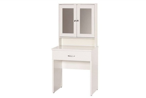 【石川家居】845-05白色化妝檯(CT-213)#訂製預購款式#環保塑鋼P無毒防霉易清潔